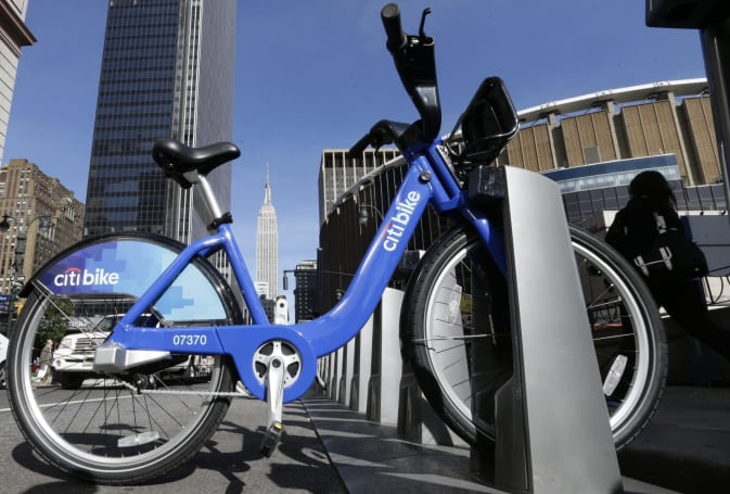 Lyft adds New York's Citi Bikes to its app