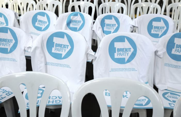 Many of the Brexit Party's Twitter followers appear to be bots