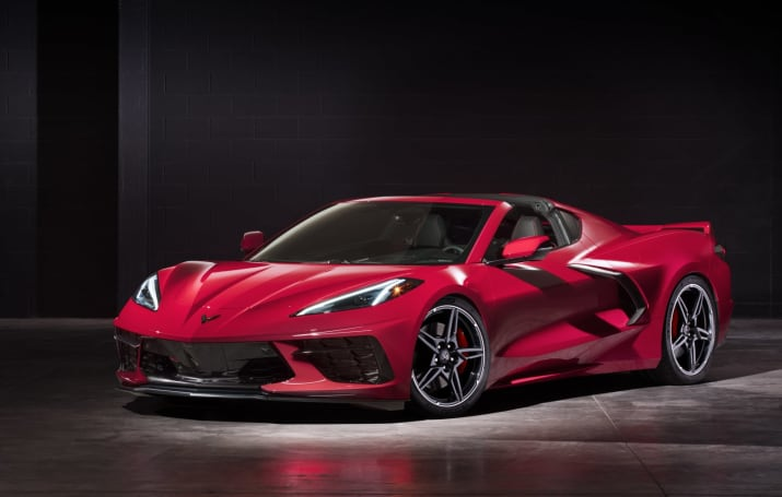 2020 Corvette moves the engine back and adds over-the-air updates