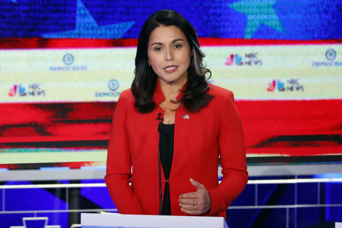 Democratic hopeful Tulsi Gabbard sues Google over alleged censorship