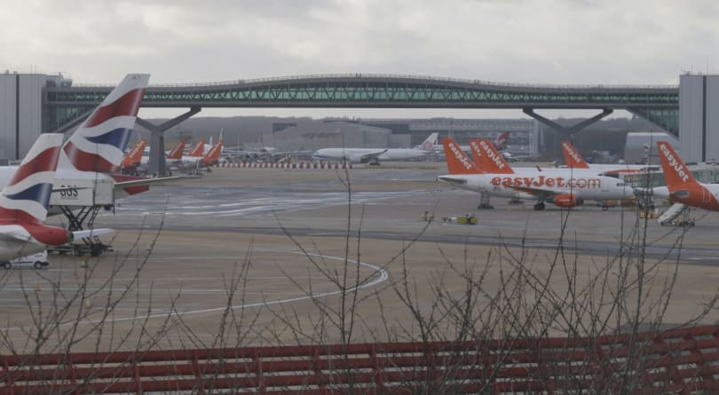 UK police arrest two over Gatwick airport drones