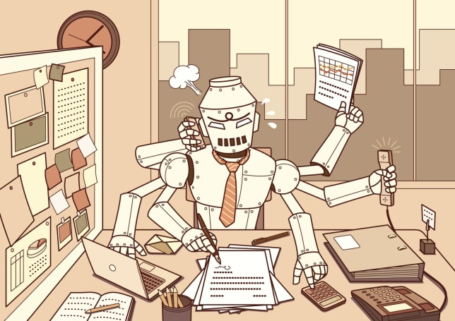 AI and automation are making office life easier