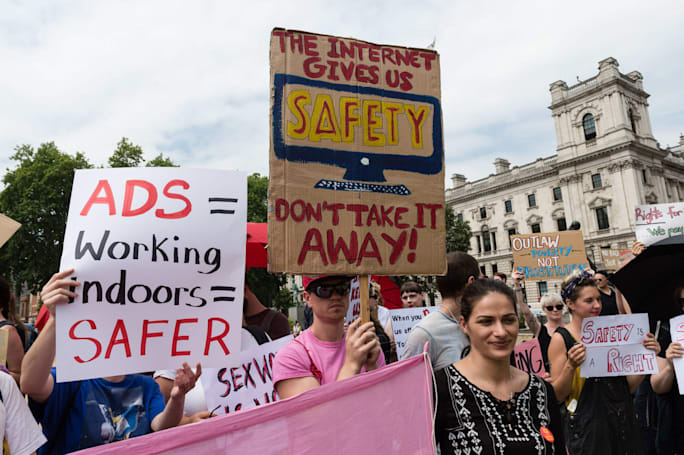 Democrats want to study FOSTA-SESTA's impact on sex workers online