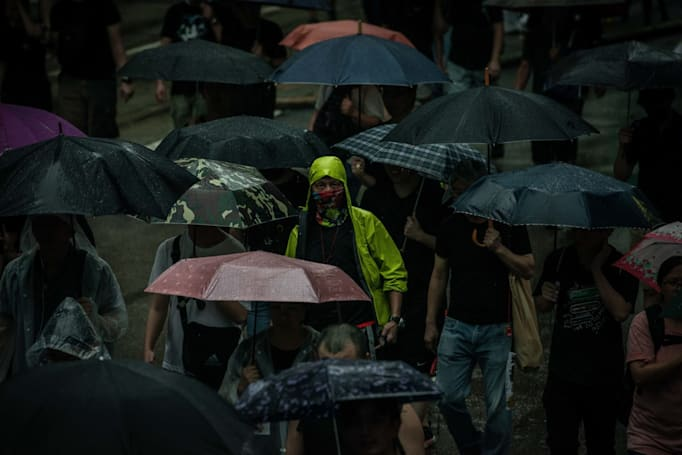 Facebook pulls propaganda accounts demonizing Hong Kong protesters