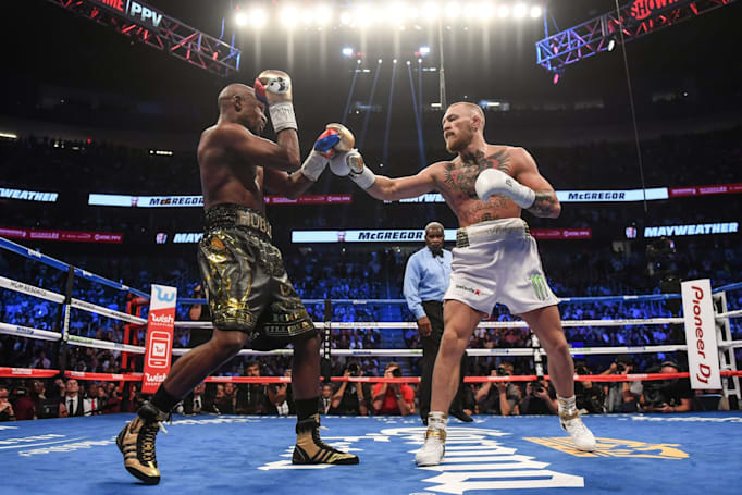 Demand for Mayweather-McGregor fight crashed pay-per-view servers