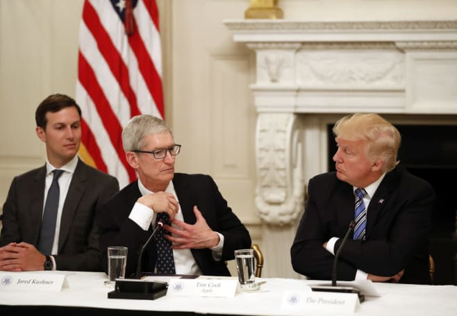 Apple, IBM heads join White House panel on workforce automation