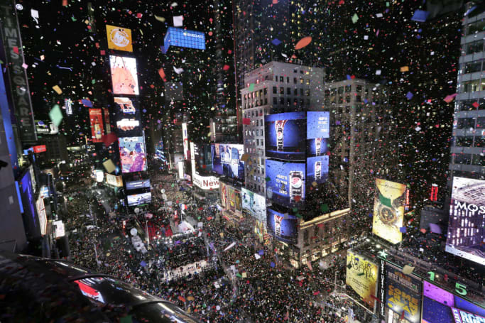 NYPD will deploy a drone at Times Square on New Year's Eve