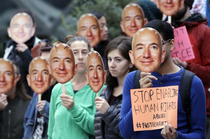 Amazon shareholders will vote to ban facial recognition tech