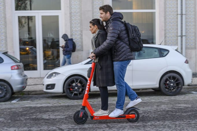 E-scooter injuries quadrupled in four years