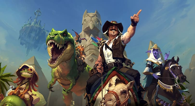 Hearthstone's new expansion brings back Quests and the League of Explorers
