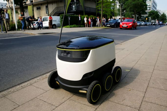 Delivery robots will soon be allowed on Washington sidewalks