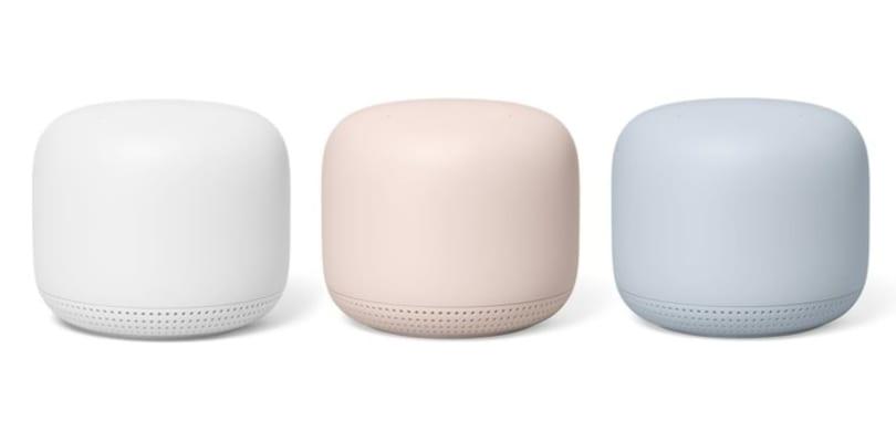 Nest WiFi's range extenders double as smart speakers