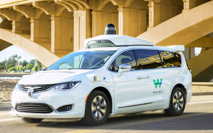 Waymo's fully-automated shuttles are picking up riders around Phoenix