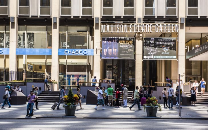 Madison Square Garden has been secretly scanning visitors' faces