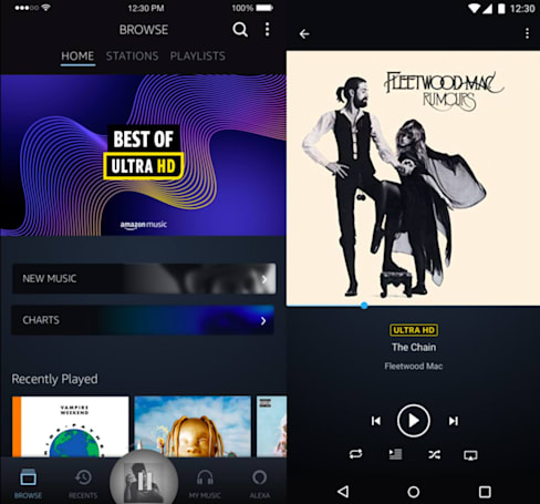 Amazon Music HD offers lossless streaming starting at $12.99 per month