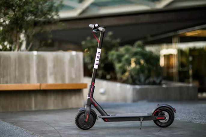 Bird launches UK's first scooter sharing service on one London path