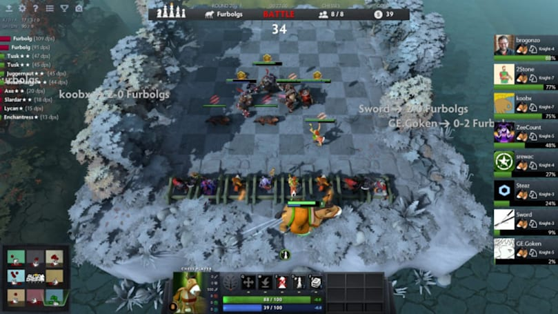 Valve is making its own version of 'Dota Auto Chess'