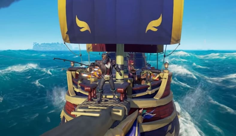 'Sea of Thieves' anniversary update will let you catch and cook fish