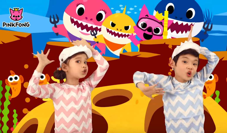 'Baby Shark' has gone so viral it's now a Billboard Top 40 song