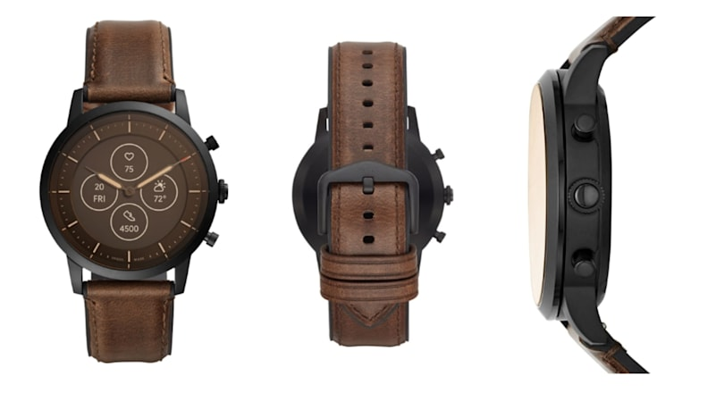 Fossil's latest hybrid watch is likely powered by Wear OS
