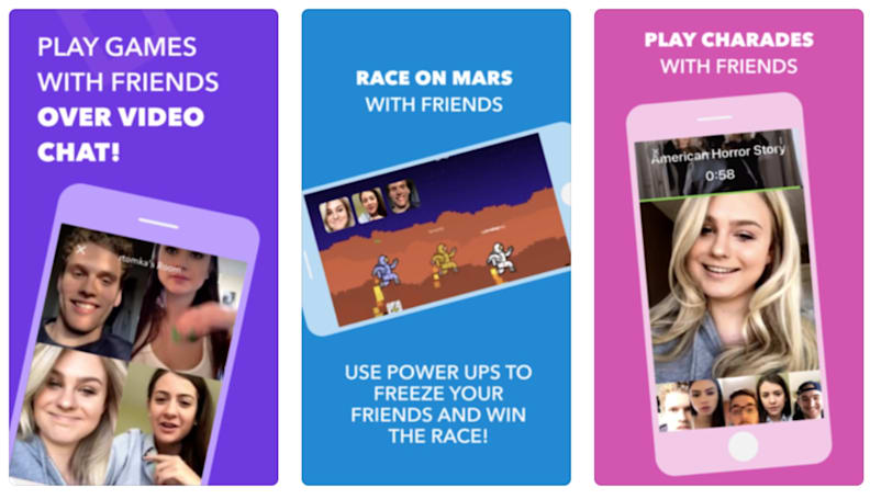Bunch lets you video chat while playing mobile games