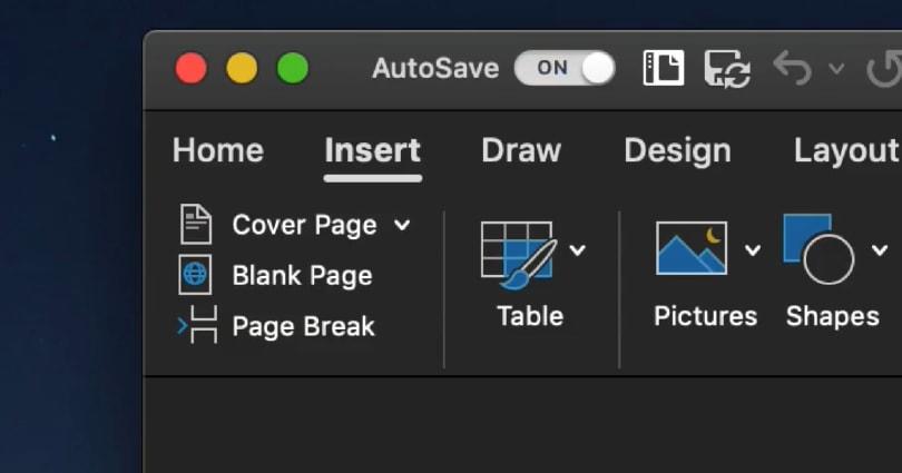 Mac 版 Office 365 現已支援夜間模式
