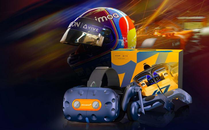 HTC Vive Pro 的迈凯伦限定版是专为 F1 车迷而来