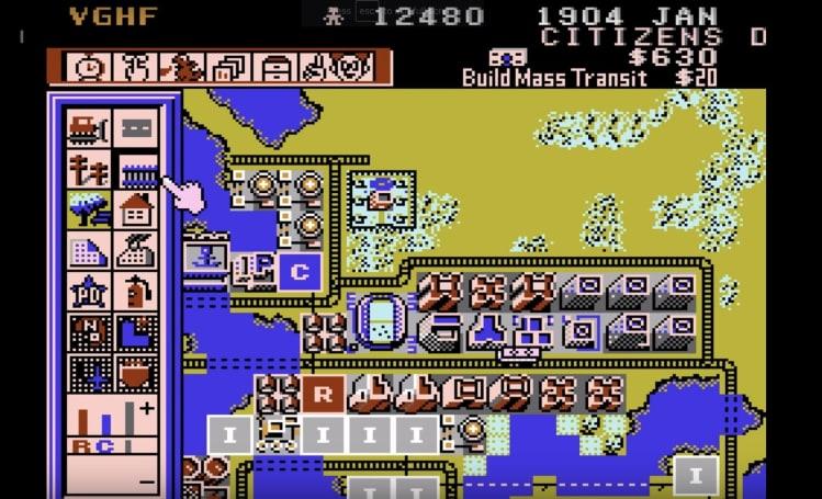 失落多年的神祕 NES 版《模擬城市》重現江湖