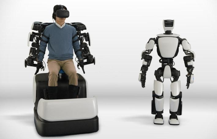 Toyota 的 T-HR3 機器人可以透過 5G 網路無線操控了