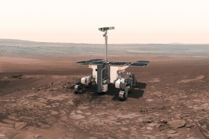 欧俄合作的 ExoMars 火星探测车将以赤道附近为着陆目标