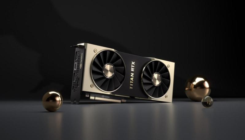 NVIDIA 正式推出 Titan RTX 显卡