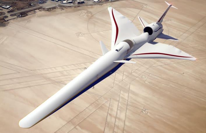 洛马正式开始为 NASA 打造安静超音速试验机