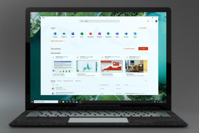 微软新推出 Office app,要成为你工作的开端