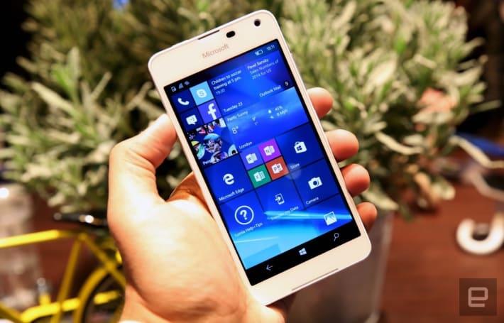 微軟將在今年底終止對 Windows Mobile 10 的支援