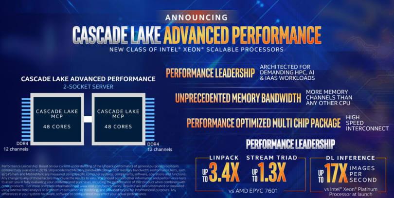 英特尔的 48 核 Xeon 处理器明年登场