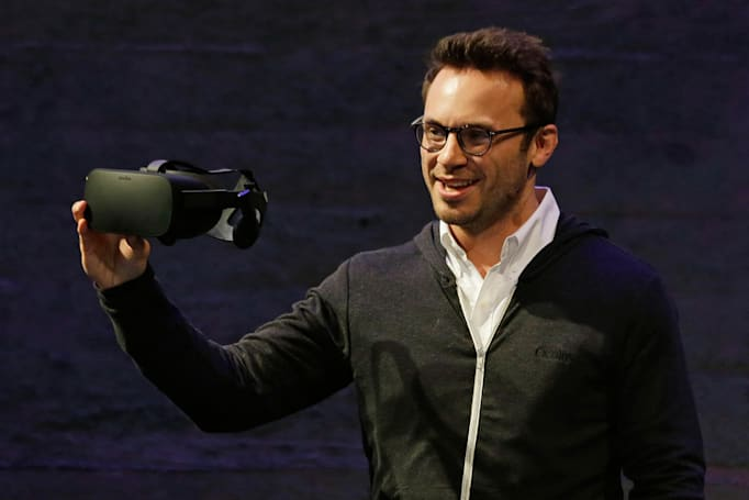 Oculus 創辦人 Brendan Iribe 離開 Facebook