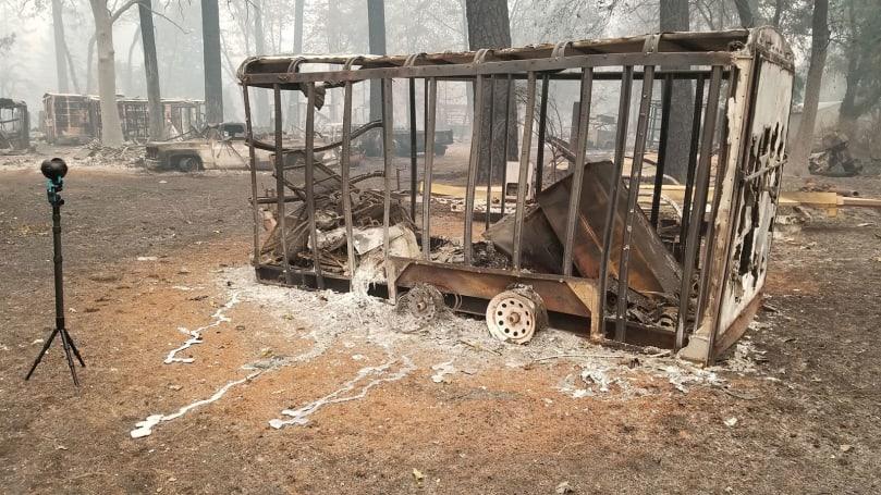 《后果》透过 360 度镜头带你亲身体验加州野火悲剧后的当地现况