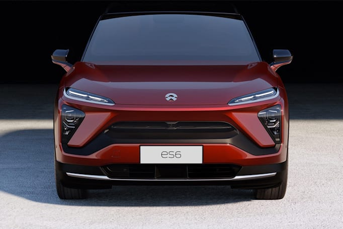 蔚來的 ES6 是款售價比較親民的電動 SUV