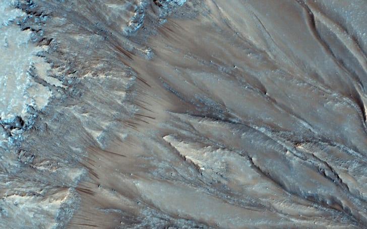 火星表面上的水可能没有想像中多