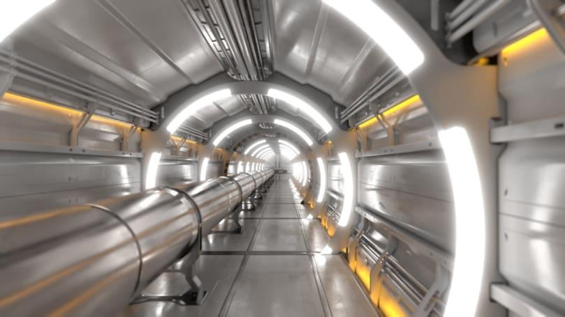 CERN 计划打造一个现有的 LHC 四倍大的粒子加速器