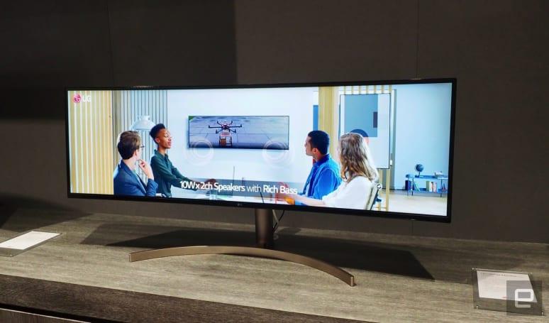 LG 這款 49 吋超寬曲面螢幕,叫你無法不三心兩意
