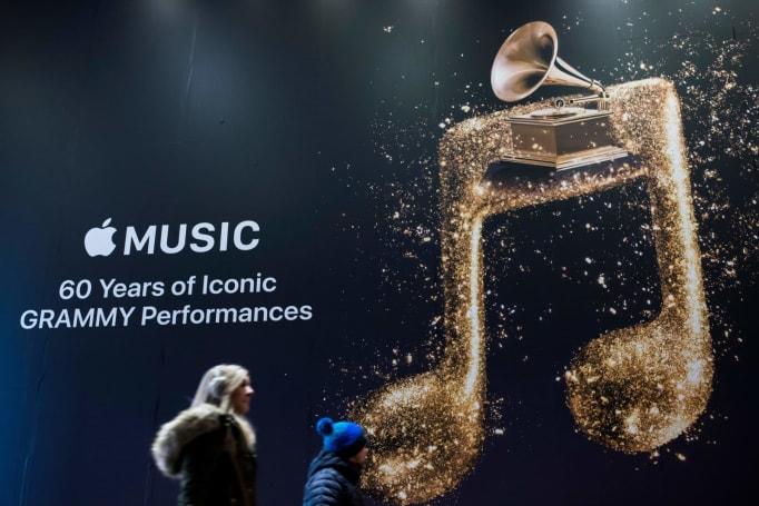 Apple Music 将联播格莱美奖提名名单