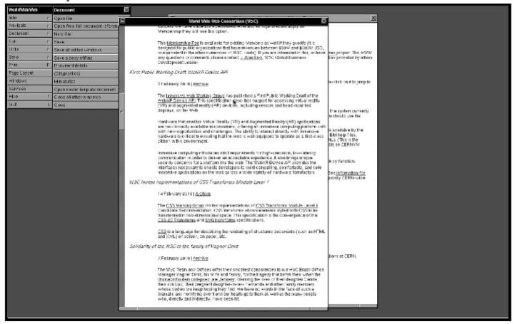 CERN 讓你重溫 90 年代的上網體驗