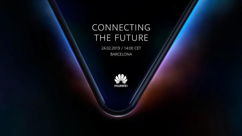 華為的折疊螢幕手機將於 2 月 24 日正式現身