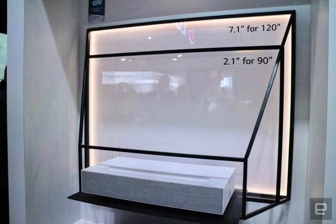 LG Cinebeam 系列鐳射 4K 投影機動眼看