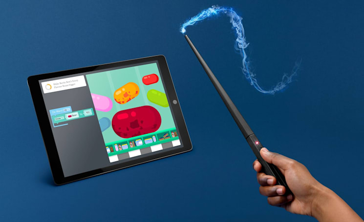 Kano's next coding kit is a Harry Potter wand