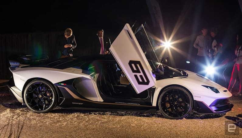 Lamborghini's Aventador SVJ bests its siblings in downforce