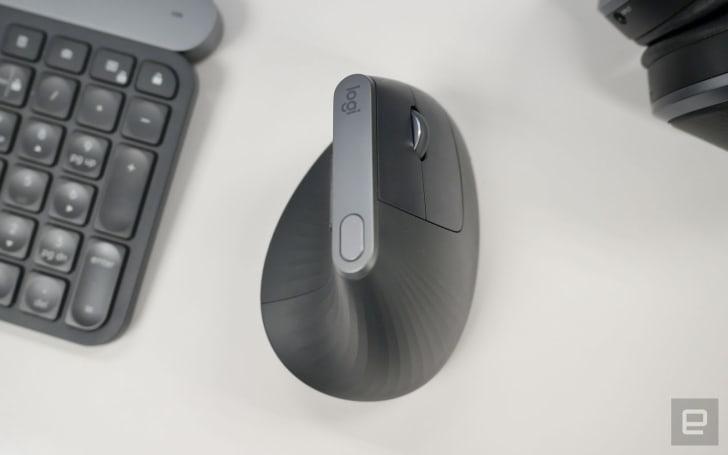 罗技 MX Vertical 垂直鼠标评测