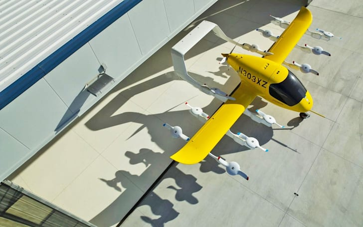 Larry Page's air taxi company cuts a deal with Air New Zealand