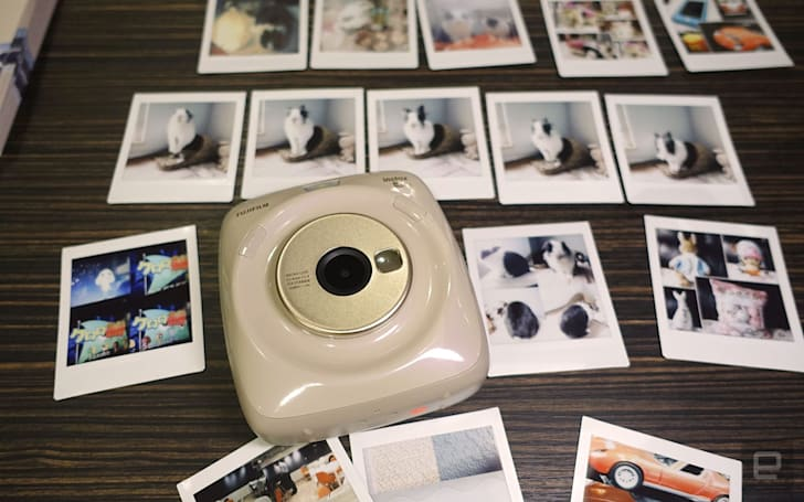 Fujifilm 新一代拍立得 Instax SQ20 抵港